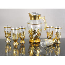 Unique Decorative Wine Drinking Glasses Sets For Hotel, Restaurant Yjd-8607
