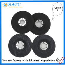 adhesivo para abrasivo de disco de aleta, respaldo de fibra de vidrio