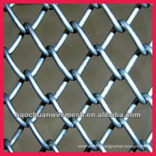 Stainless steel chain link fence