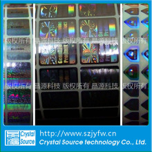 Custom Security Tamper Evident Laser Hologram Sticker