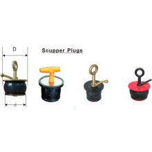 Ship's Brass Scupper Plug