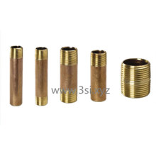 China Manufacturer Brass Male Both End Thread Nipple