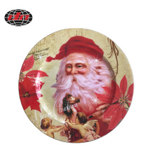 Christmas Decoration Plastic Charger Plate