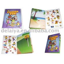 Reusable sticker book