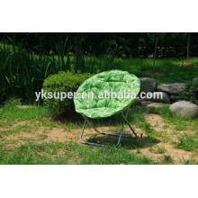 Opções multicoloridas cadeira de lua acolchoada confortável