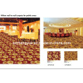 PP Heat Set Wilton Woven Wall to Wall Broad Loom Carpet