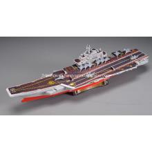 Portaaviones chino 3D Puzzle de Liaoning