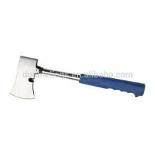 Axe with handle for camping, fire, splitting