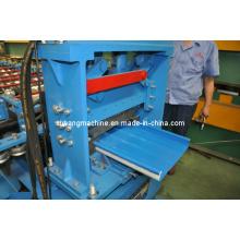 Máquina formadora de rollos de bloqueo de costura de soporte