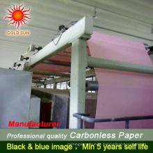 Favoritos Comparar 2-ply NCR rolo de papel de alta qualidade caixa de papel autocopiativo com imagem azul papel copiadora