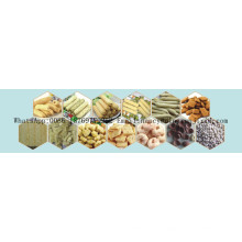 100-450 kg / h Snacks Lebensmittelverarbeitungslinie