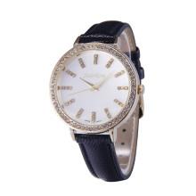 Relógio de pulso de liga simples para mulheres