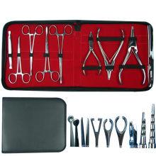 8 piezas de Piercing Forceps Kit