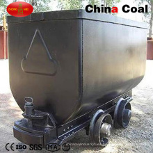 Venta caliente 600 gauge inclinando el coche de la mina del cubo