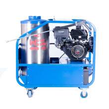 Gasoline Driven Oil Fired hot water high pressure cleaning equipment