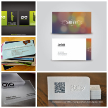 beautiful design black metal business cards with barocde Name Cards Business Cards
