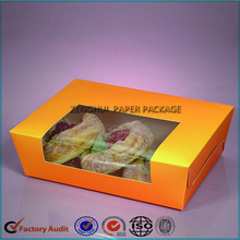 Custom Printed Paper Bread Packaging Box
