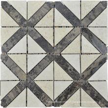 Mosaïque en mosaïque en mosaïque triangulaire mosaïque (HSM181)