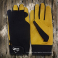 Cowhide Leather Glove-Safety Glove-Mechanic Glove-Machine Glove-Working Leather Gloves