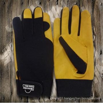 Work Glove-Working Leather Glove-Safety Glove-Mechanic Glove-Labor Glove-Leather Glove