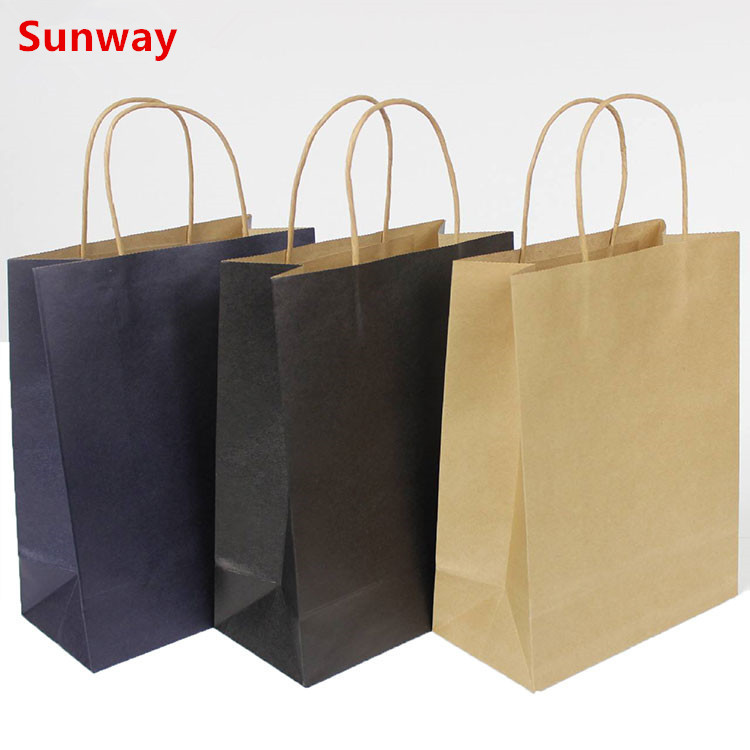 Cheap Brown paper bags with handles