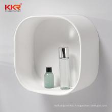 bathroom holders racks Bathroom white solid surface shelf for vanity