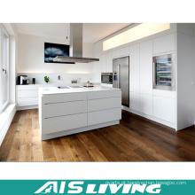 Mobília de gabinete de cozinha acrílica de alto brilho com MDF personalizado (AIS-K035)