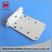high precision screen door hardware parts with coating painting cnc machining parts