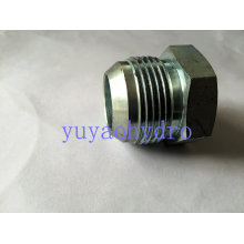 Adaptateur manuel BSPT Steel Hydraulic Male
