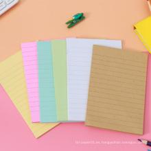 Notas personalizadas impresas de Die Cut Bookmark Sticky Notes Memo Pad