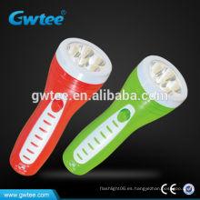 Mano de plástico led linterna recargable GT-8106