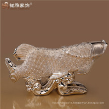 Large fish resin animal theme fengshui showroom decoration for display