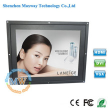 "4:3 resolution 800X600 TFT 10.4"" open frame LCD monitor with 12v dc input"