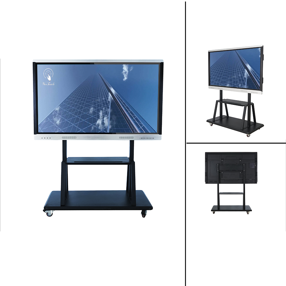65 inches smart panel with mobile stand