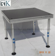 Portable Performance Mobile Stage with Adjustable Legs (RK-DC20111224-27)