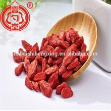 Ningxia fornecimento direto certificado orgânico seco goji berry boa qualidade gouqi