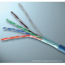 Ftp cat5e Kabel gewickeltes Ethernet-Spulenkabel Netzwerkkabel cat5e