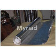 Folha de alumínio dobro tecido tecido com revestimento de isolamento PE fabricante