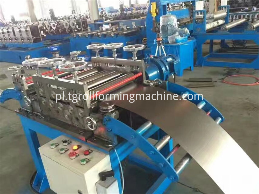 Steel Palisade Fence Machine