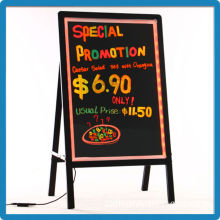 Tempered glass remote control 90 kinds flashing modes full color led rewritable outdoor advertisement signboard