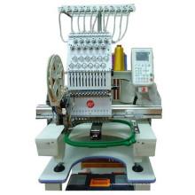 Máquina de bordado computarizada de una sola cabeza mezclada
