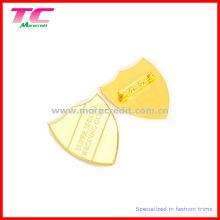 Горячие точки моды блестящей золотой сплав Pin Знак