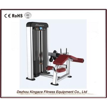 Máquina de curl de pierna propensa del equipo comercial del gimnasio