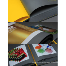 Impressão de livro de tamanho personalizado em cores