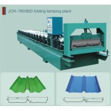 Автоматическая профилегибочная машина для производства рулонов со скрытым валком Jch