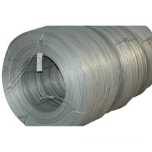 Alambre de acero galvanizado y filamento de alambre