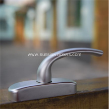 New and High Quality Silver Aluminum Handle