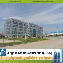 D Steel Structure Prefabricate Warehouse