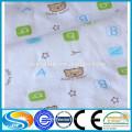 Camisa de flanela de flanela de algodão por atacado e manta de flanela
