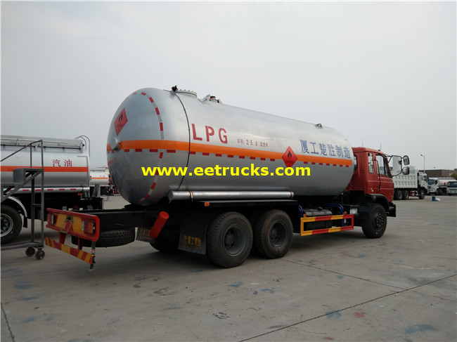 24000L LPG Tanker Vehicles